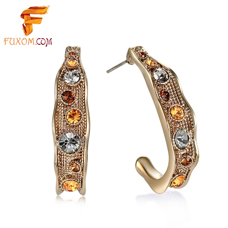 earrings rs amber cutout woman women gold designs lar drop buy for jewellery price