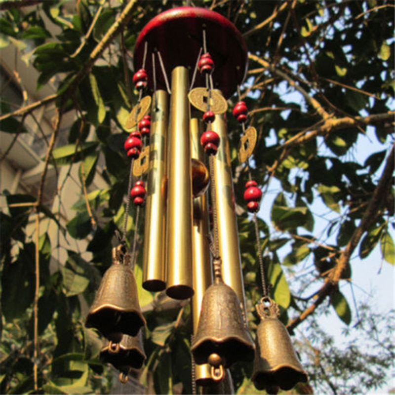 Outdoor Living Wind Chimes Yard Antique Amazing Copper Tubes Bells